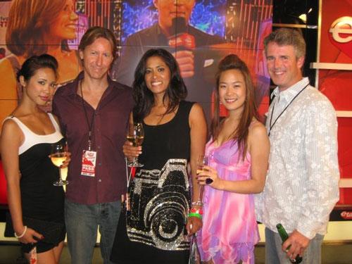 Karmen Cheng, Paul, Lorraine, Lisa-Marie Chen, Peter Flynn