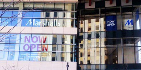marshalls-toronto-yonge new opening