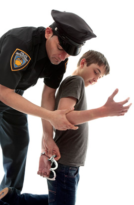 boy getting arrested life lessons