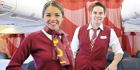 AC Rouge Flight Attendants
