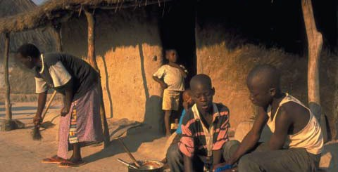 AIDS in Africa VIllage
