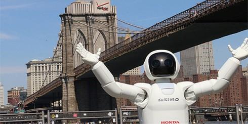 asimo honda robot
