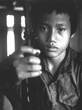Child soldiers in Asia