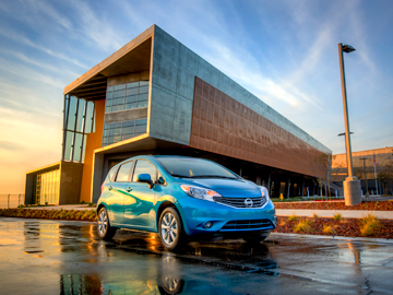Nissan Versa Note sub-compact car, first-car purchase