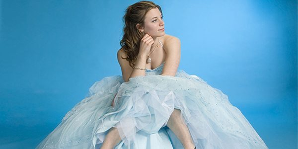 Prom Dress, Sitting Alone