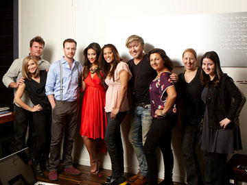 Shay Mitchell and Faze Team