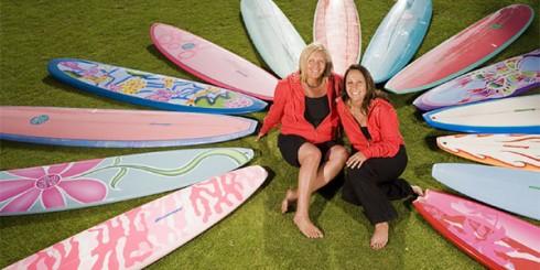 Izzy and Coco Tihanyi Surf Divas