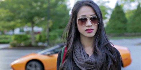 racist asian mean girl