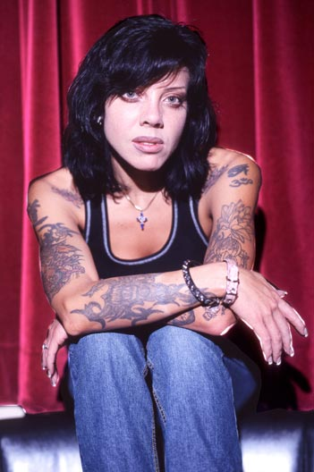 Bif Naked - Faze Cover Shoot