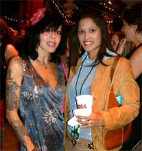 Bif Naked and Lorraine Zander