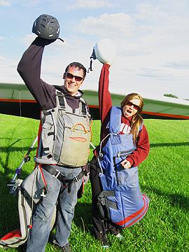 Hang Gliding. I did it!