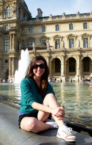 Brittany Mahaney - Paris, France, Le Montclair Hostel