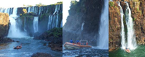 Iguazu Falls Argentina Park Boats