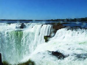 Iguazu Falls Argentina Park Devil's Throat