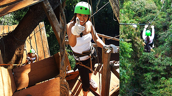 Iguazu Falls Argentina Jungle Zipline