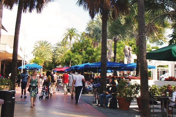 Miami Beach Lincoln Road Mall