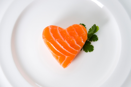 Salmon Sushi Heart