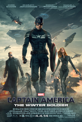 2014 Captain America The Winter Soldier