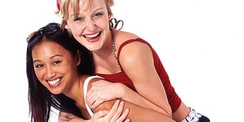 Best Friends Sara Cauchon and Joy Olimpo