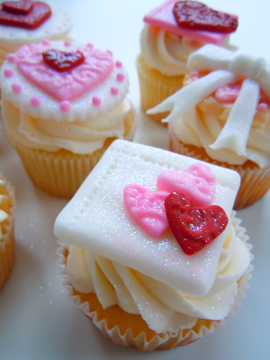 Le Dolci: the cupcakes we would be making in class