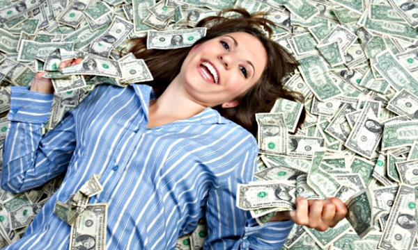 Money Makes A Girl Happy