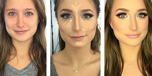 fancy face makeup prom