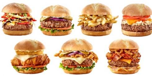 burgers fast food hamburger toppings