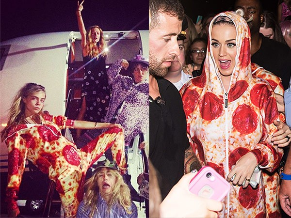 katy-perry-cara-delevingne-pizza onesie