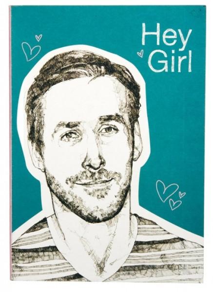 Hey Girl Notebook