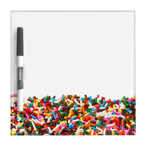 Sprinkles Dry Erase Board