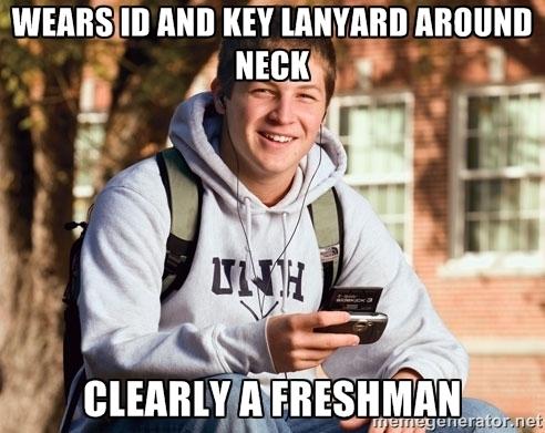 Freshman Lanyard