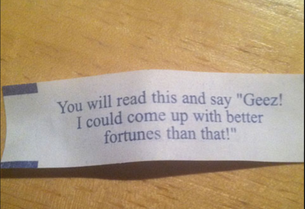 Funny Fortune Cookie