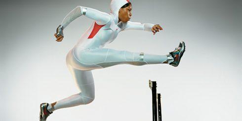 Nike hurdler Perdita Felicien