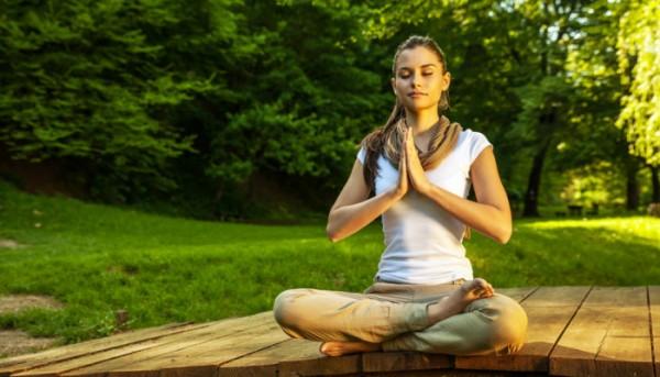 meditate in nature