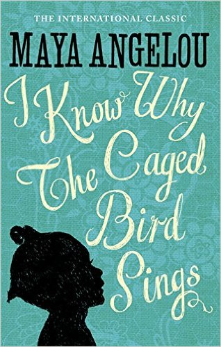 The book cover for I Know Why The Caged Bird Sings, written by Maya Angelou.