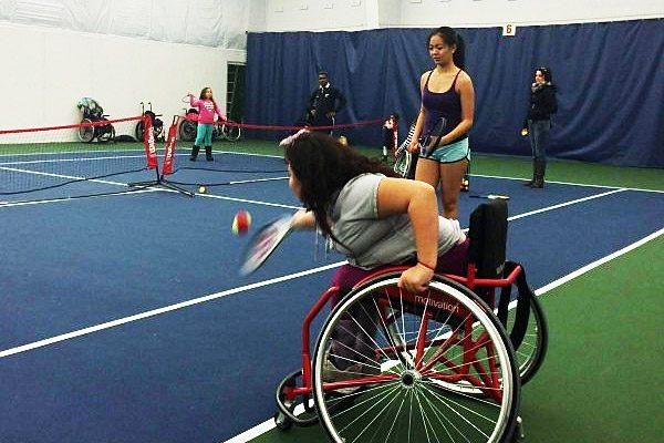 Stephanie Li Wheelchair tennis