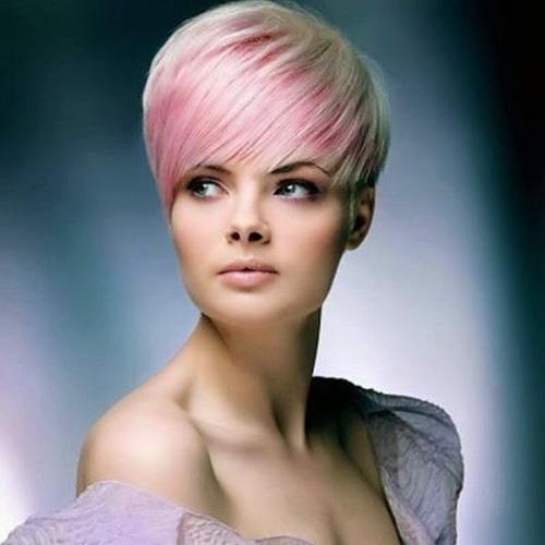 Pink Dye Hair