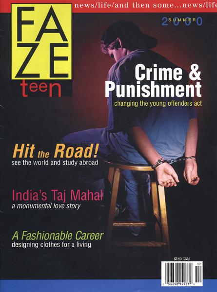 Faze Issue 2 Cover - Summer - Crime - Freya Kangas