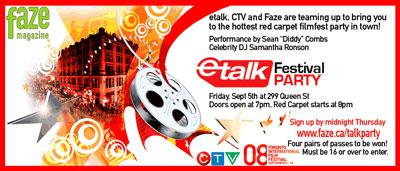 etalk tiff festival party