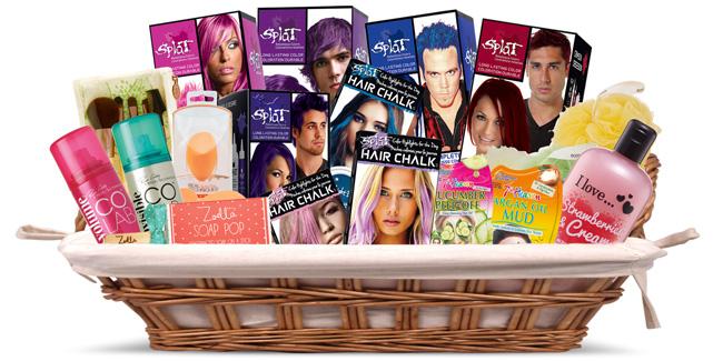 Splat FarleyCo Beauty Gift Basket