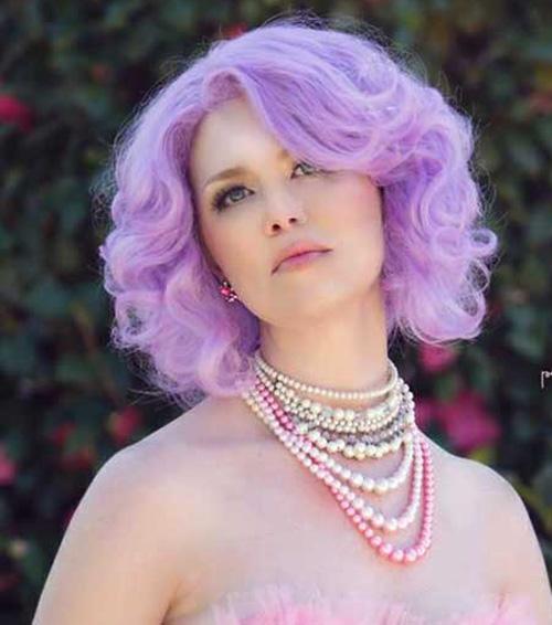 purple hair dye