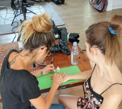 Meg DeAngelis nails