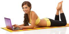 Asian fitness blogger