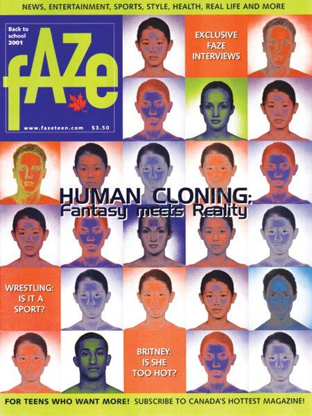 Issue #05 Faze Magazine Human Cloning
