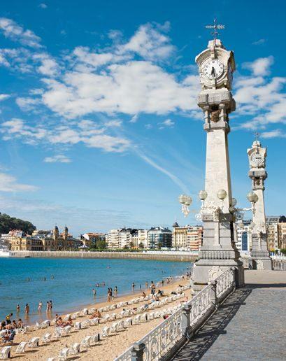 trave visit San Sebastián, Spain