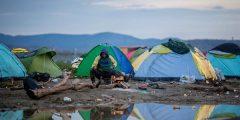Idomeni refugee camp