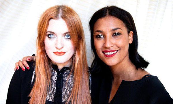 Icona Pop Caroline Hjelt and Aino Jawo