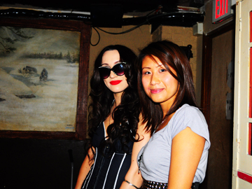 Lindi Ortega and Elaine Kwan--I wear my sunglasses at night...