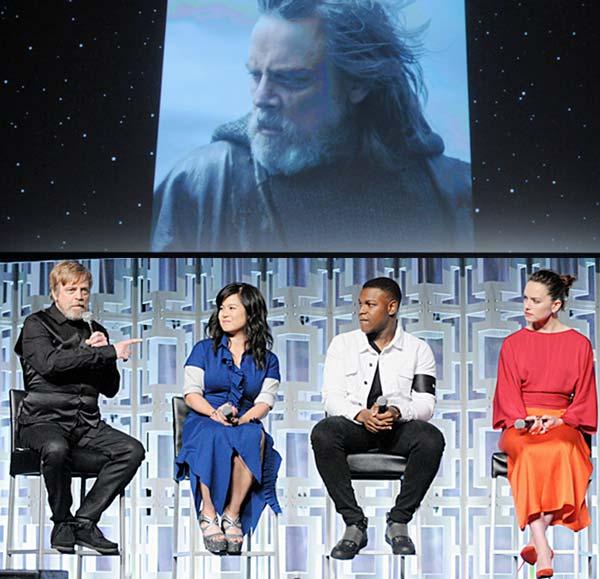 Star Wars The Last Jedi Celebration