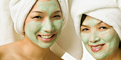 Asian Mother Daughter Spa